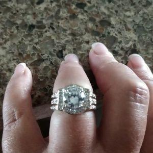 Jewelry - Cubic Zirconia 2 piece Bridal Set